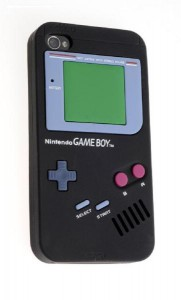 Gaming Cover Game Boy black