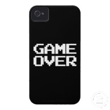 Gaming Cover Game Over